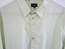 "Paul Smith CHECK Shirt ""JEANS""  Very Rare SLIM FIT Size L Pit to Pit 21.5"""
