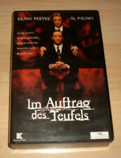 VHS Film - Im Auftrag des Teufels - Keanu Reeves - Al Pacino - Videokassette