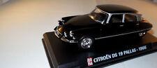 Modello di auto 1966 CITROEN DS 19 ds19 Pallas BERLINA 4-türig NERO 1:43 IN SCATOLA ORIGINALE