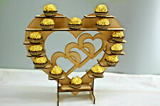 Y5 fererro Rocher Stand Donut Beignet Mural Fête Bonbons Candy Panier MDF