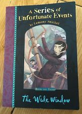 The Wide Window by Lemony Snicket (Paperback, 2012)
