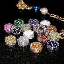 4Pc Glitter Paillette Ombre Fard à Paupières Poudre Pigment Smoky Eye Maquillage