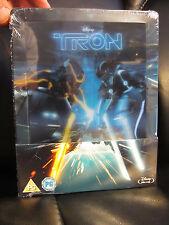 Tron Legacy Lenticular Magnet Blu-Ray Steelbook Region Free Disney Sealed