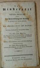 Rar! Der Kinderarzt 1829 Mellin/Hertel Kempten/Augsburg Pädiatrie Arzt Medizin..
