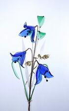 Bluebells Crystal VETRO FIORI IN VASO DECORAZIONE delicata per la visualizzazione Scaffale