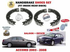 FOR HONDA ACCORD 2.0 2.2 CDTI 2.4 TOURER VTEC 2003-2008 REAR HANDBRAKE SHOE SET