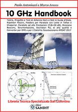 MICROONDE 10 GHz ANTENNE HORN GUIDE D'ONDA RIPETITORI PARABOLE ALTE PRESTAZIONI