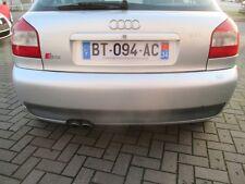Stoßstange hinten Audi A3 S3 8L lichtsilber LY7W Heckspoiler Spoiler silber
