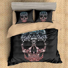 Little Coke Bottle Skull 3D Digital Print Bedding Duvet Quilt Cover Pillowcase