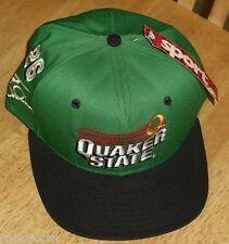 Brett Bodine Quaker State hat Racing Nascar Vintage Snapback LAST1!! New nwt #26