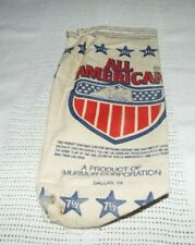 All American 25 Lbs.No. 7 1/2 Chilled Lead Shot Empty Bag Look!