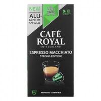 Café Royal Espresso Macchiato Coffee Capsules for Nespresso Swiss Original