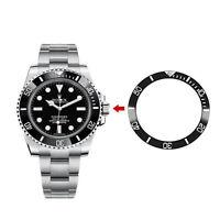 Keramik Uhr Lünette Inset Ring Sperrfeder für 40mm Uhr Veränderbar Watch Bezel