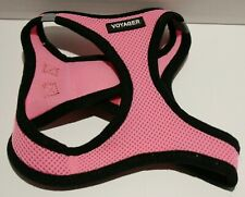 Voyager All Weather No Pull Step-in Mesh Dog Harness Padded Vest - Pink S