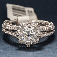 VERRAGIO ENGAGEMENT RING 18K WHITE GOLD 5030