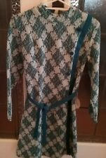 Genuine late 1960s  jersey dress.Still with tag.New.Size 12.