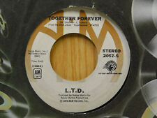 L.T.D 45 Together Forever / Holding On ~ A&M VG++