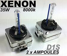 2 x D1S AMPOULES XENON HID ECLAIRAGE FEU PHARES REMPLACEMENT ECHANGE 35w 8000k