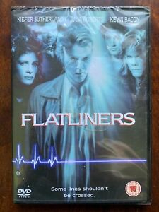 Flatliners DVD 1990 Original Medical Horror movie Classic w/ Kiefer Sutherland