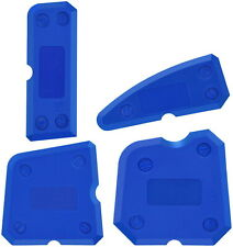 4pc Set Silicone Sealant Spreader Finishing Tool Kit Caulk Smoother Tile