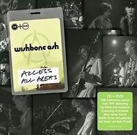 WISHBONE ASH - ACCESS ALL AREAS  CD+DVD NEUF