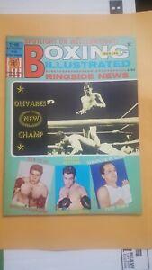 Vintage Boxing Illustrated + Ringside News Magazine. May 1969. Ruben Olivares.