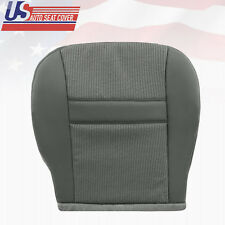 2007 2008 Dodge Ram 1500 SLT ST PASSENGER Bottom Cloth Seat Cover Med Slate Gray