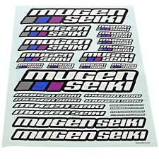Mugen 1/10 MTX6R Nitro * DECALS LOGO SHEET, LARGE * Stickers Multi Color Label