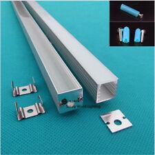 10pcs 1m 14.5*14.5mm flat led aluminium profile for 8-12mm strip,led bar light