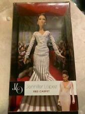 New Barbie Collector Doll Jennifer Lopez Red Carpet Black Label J Lo Pop Jlo