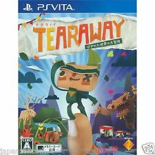 Tearaway: Hagareta Sekai no Dai PS Vita SONY JAPANESE NEW JAPANZON
