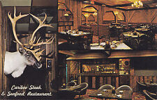 Cariboo Steak Seafood Restaurant PRINCE GEORGE British Columbia Canada Postcard