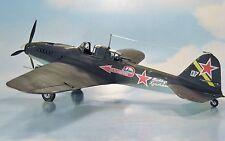 "BUILT 1/48th IL-2M3 ""STORMOVIK"" Soviet WWII Ground Attack Aircraft. Very nice!"