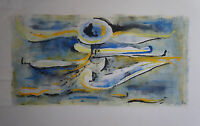 L.  ZEILINGER  (1897/1990)    - COMPOSITION LYRIQUE  1964  - Signé