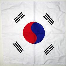 S. SOUTH KOREA FLAG BANDANA Cotton Scarves Scarf Head Hair Neck Band Skull Wrap