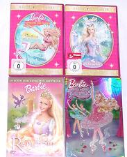 """DVD: Sammlung BARBIE Schwansee, Oceana, Rapunzel, Ballettschuhe """" Deutsch"""