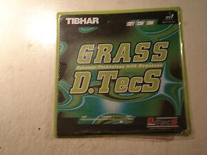 Tibhar Grass D.TecS Spezialbehandelt/glatt und sehr langsam,OX,größte Störung