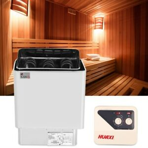 220-380V Stainless Steel Bathroom Heating External Control Sauna Stove Heater.