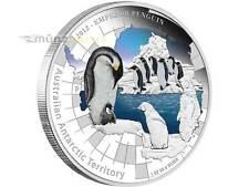 1 $Dólar 2012 pingüino emperador AUSTRALIA 1 ONZA plata pp