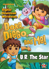 'Dora, Diego & ME' Personalised Movie starring YOU!!!  Digital Download $39.95