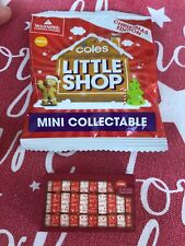Unopened - Coles Mini Shop Collectable - Christmas Edition - Festive Crackers