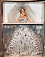 MILLENNIUM BRIDE BARBIE DOLL Limited Edition 1999 Swarovski Crystals Box COA Pin