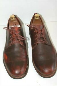 Timberland Derby To Shoelaces anti fatigue Brown Leather Moderate T 11 W/ 45 Vgc