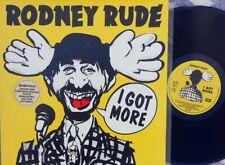 Rodney Rude ORIG OZ LP I got more NM '85 EMI GET10 Aussie standup comedy