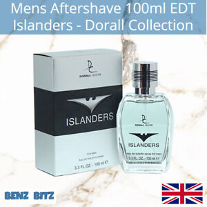 Islanders Mens Aftershave By Dorall 100ml EDT Eau De Toilette Spray Invictus