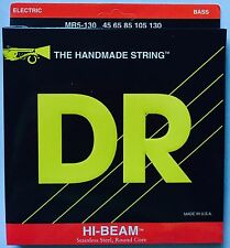 DR MR5-130 Hi Beam BASS Guitar Strings  5-string set gauges 45-130