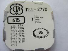 ETA cal.2770 a 2779, da 2782 a 2790 sperrad RATCHET WHEEL PART NO 415