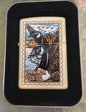 New Vintage 1997 Zippo Lighter Barrett-Smythe Duck Series Canada Geese #216BS