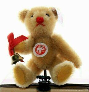 Steiff bears*Steiff Teddy bear Gold Ornament Limited Edition 9cm*Ean 037399