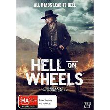 HELL ON WHEELS-Season 5, Volume 1-Region 4-New AND Sealed-2 DVD Set-TV Series